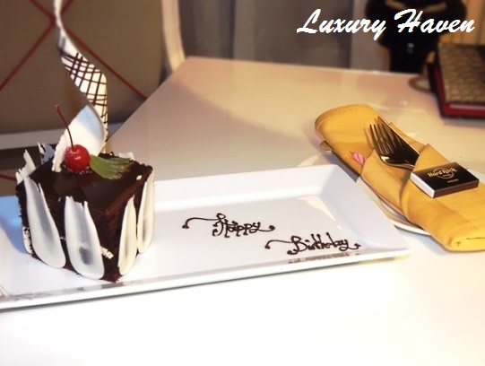 hard rock hotel penang birthday cake