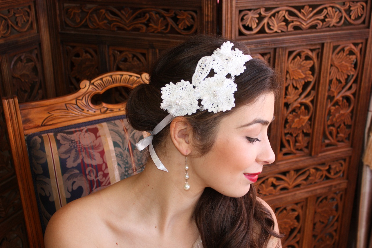 handmade wedding jewellery and headpieces. helena's crown