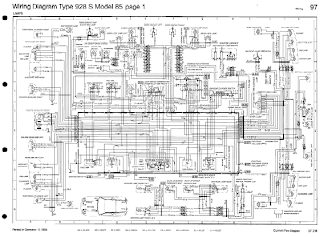 Porsche 928 S Wiring Diagrams | Online Guide and Manuals