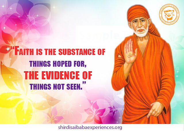 Shirdi Sai Baba Blessings - Experiences Part 2764