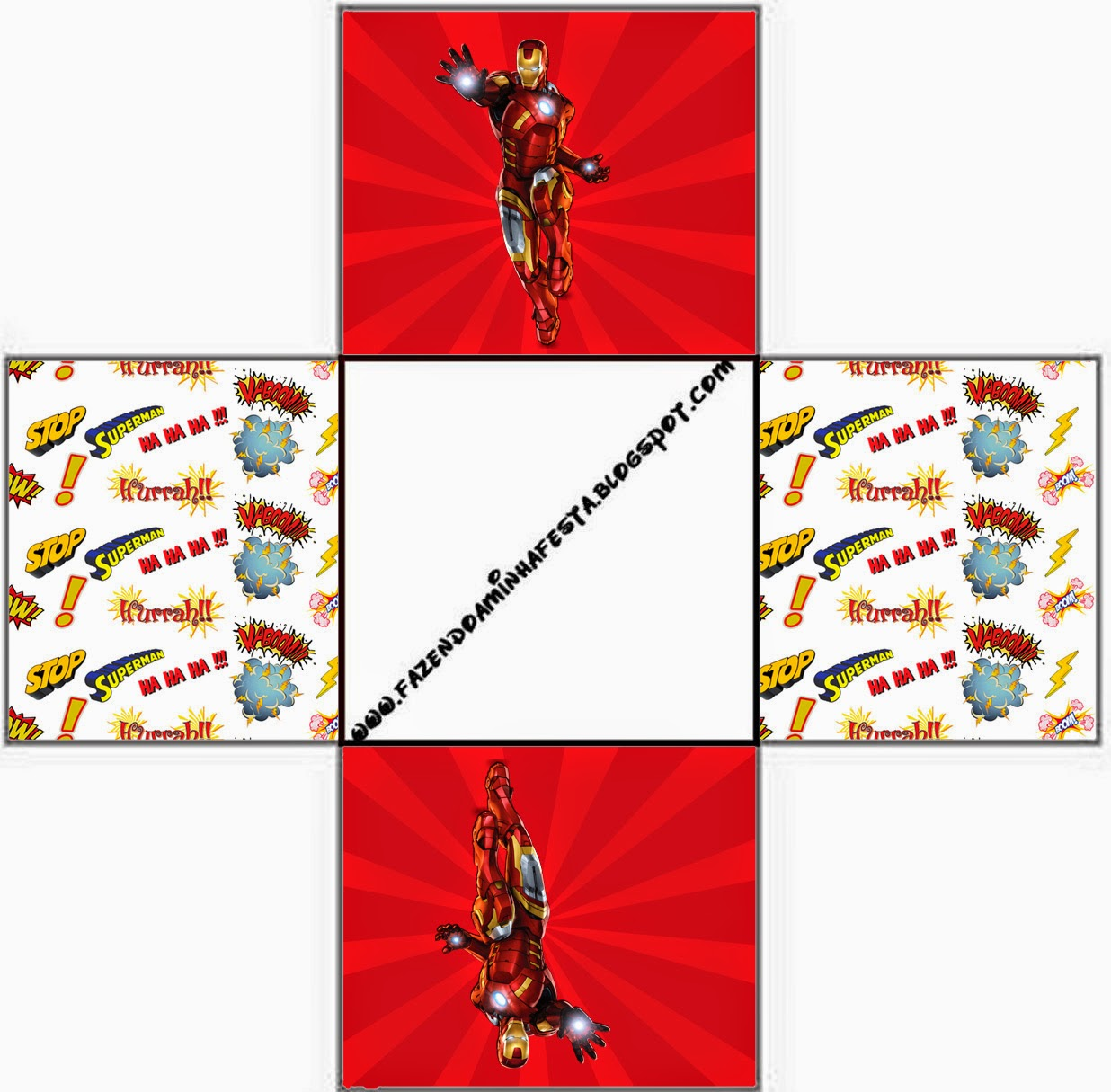 Iron Man: Free Printable Boxes. - Oh My Fiesta! for Geeks