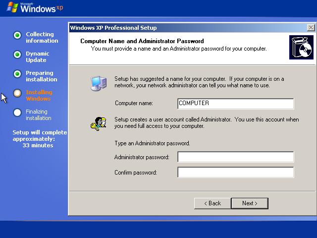 Cara Install Windows XP (Lengkap Dengan Gambar) 10