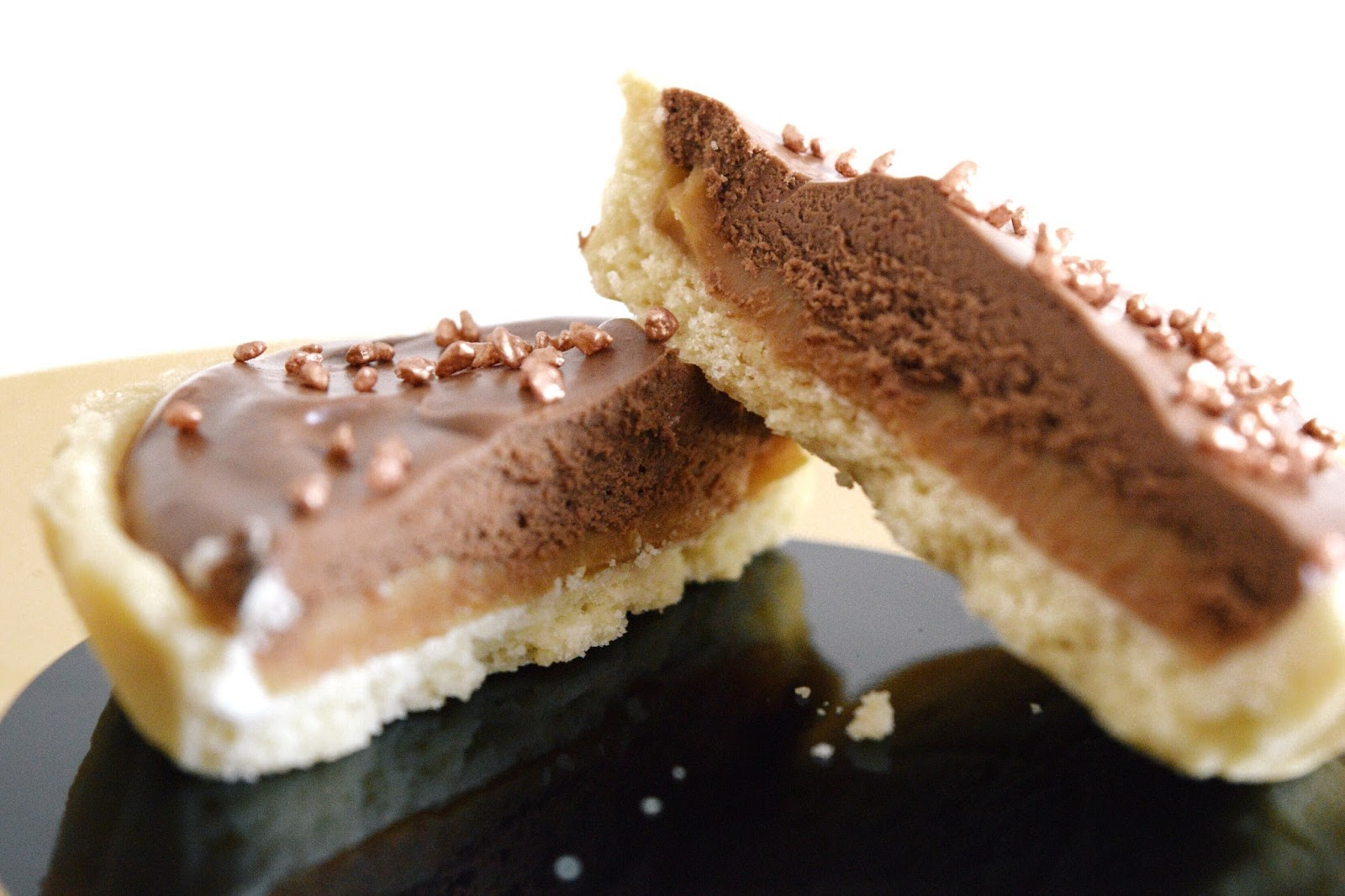 mini baileys salted caramel chocolate tart recipe