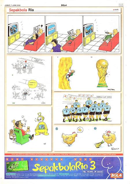 Sepakbola Ria EDISI JUM'AT, 7 JUNI 2002
