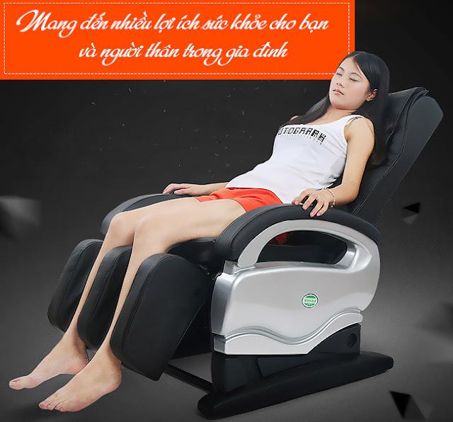 Đệm massage toàn thân thư giã cơ thể hoàn hảo sau 15 phút
