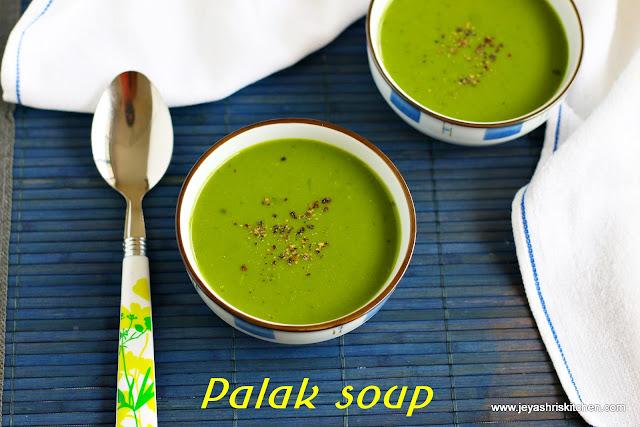 Palak soup