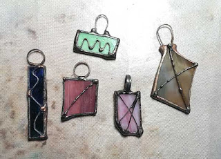 Hot Off The Bench - New Glass Pendants