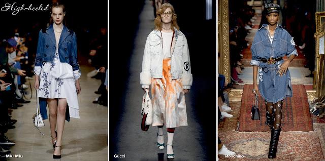 Деним - модный тренд осень 2016 - зима 2017