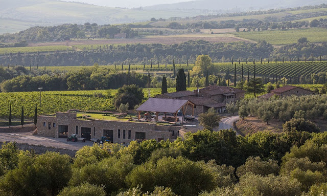 Vinícola Caprili em Montalcino