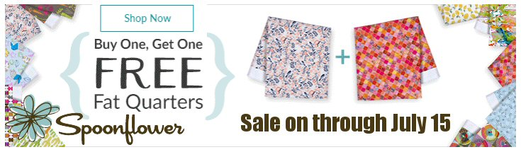 Spoonflower Fat Quarter Sale