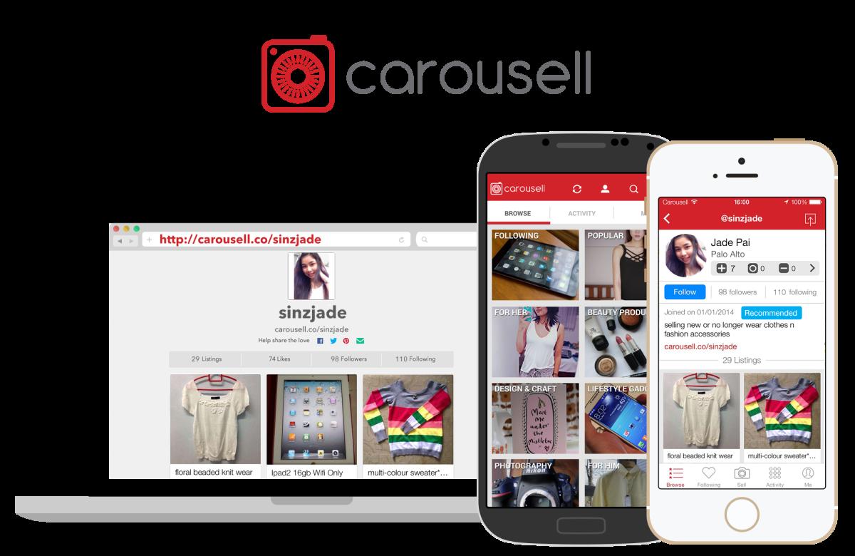 Phone App Carousell An Online Thrift Shop Nicole Yie
