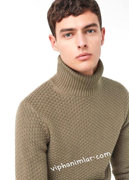 Kışlık erkek kazak modeli - viphanimlar.com