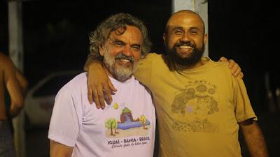 Artista Jequieense grava filme com o ator José Dumont