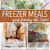 Make Ahead Freezer Meal Recipes Your Family Will Love