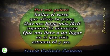 Versos de AMOR – David Galindo Castaño