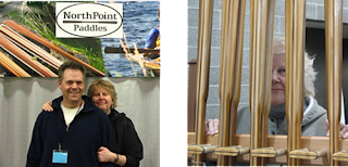Randy & Brita and Beth at the NorthPoint Paddles Booth