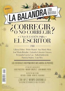 Sumario Número 2 Revista Literaria La balandra