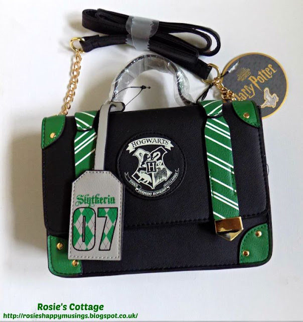 Harry Potter Slytherin Cross body Bag from Primark