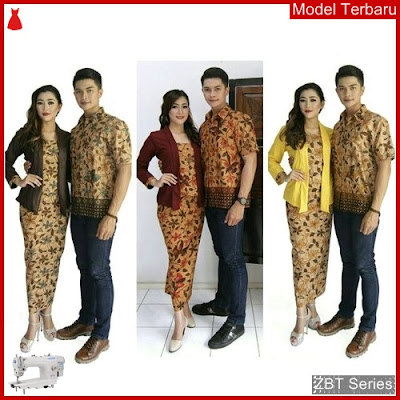 ZBT12909 Kebaya Batik Couple Katun Primis Afira BMGShop