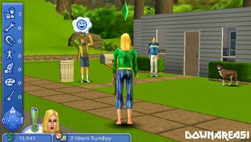 Sims 2 Pets PSP Game Screenshot Pitcure