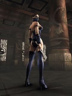 kitana adalah gadis cantik bersenjatakan kipas tajam