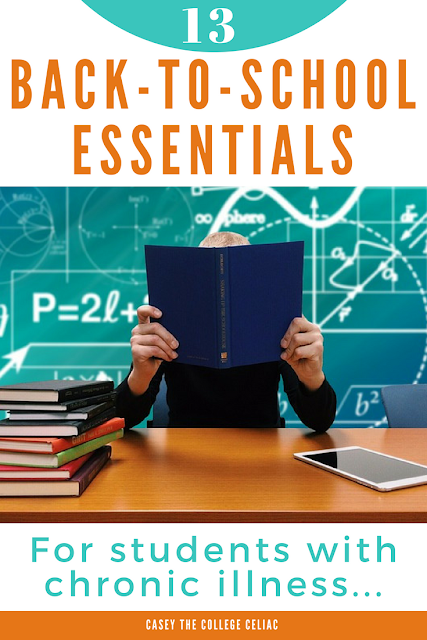 13 Back-to-School Essentials for Students with Chronic Illness