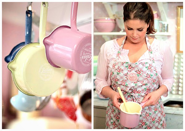 Pastel coloured enamelware collection from Leilas General Store