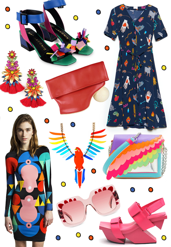 wish list, blogger, rainbow colours