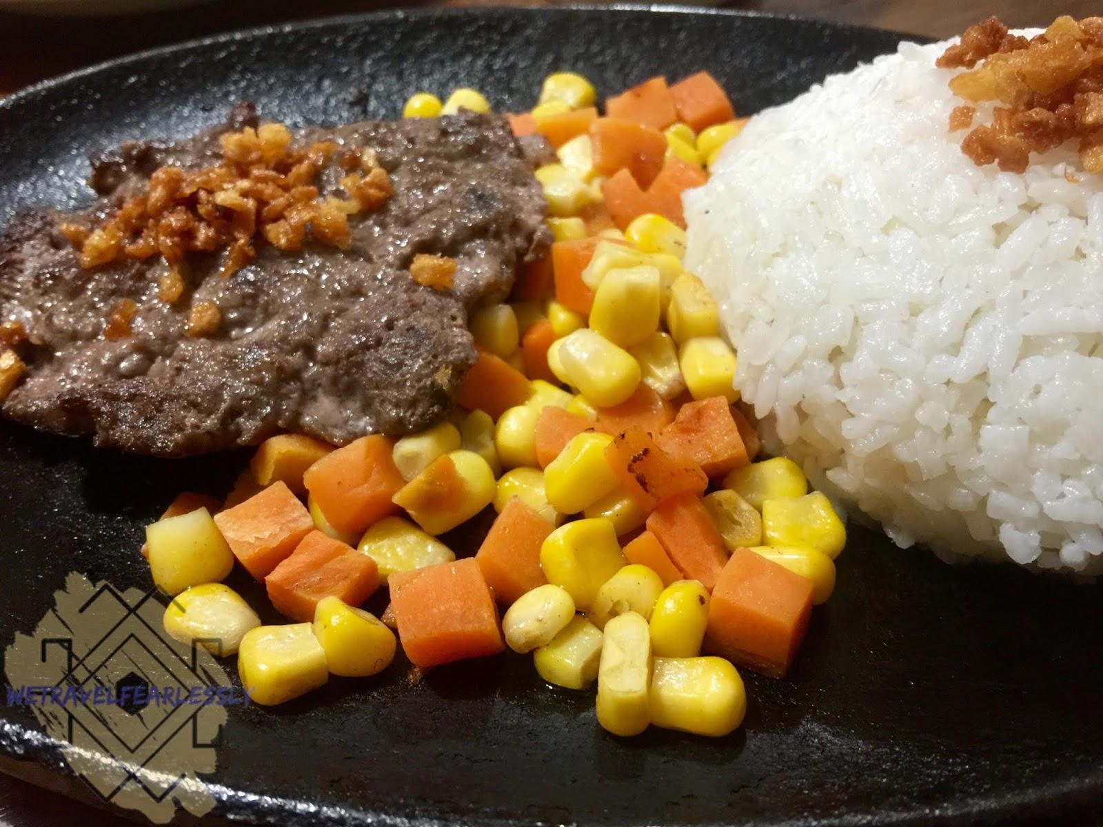 Salisbury Steak in Tuki's Food Station in Manggahan, Pasig