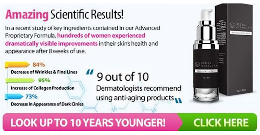 Eliminate Ugly Signs with Ideal Vitality Serum - Healthy Mini Market
