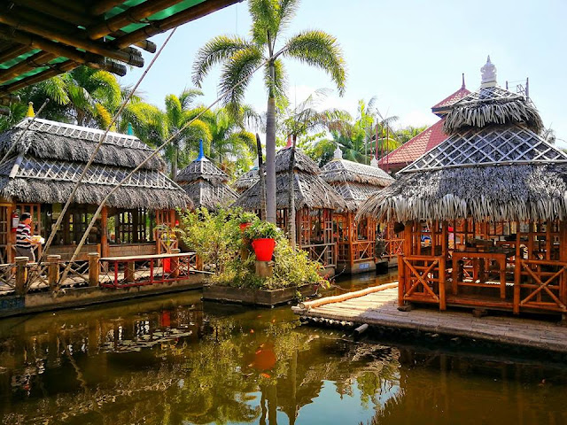 Isdaan Village and floating restaurant in gerona tarlac