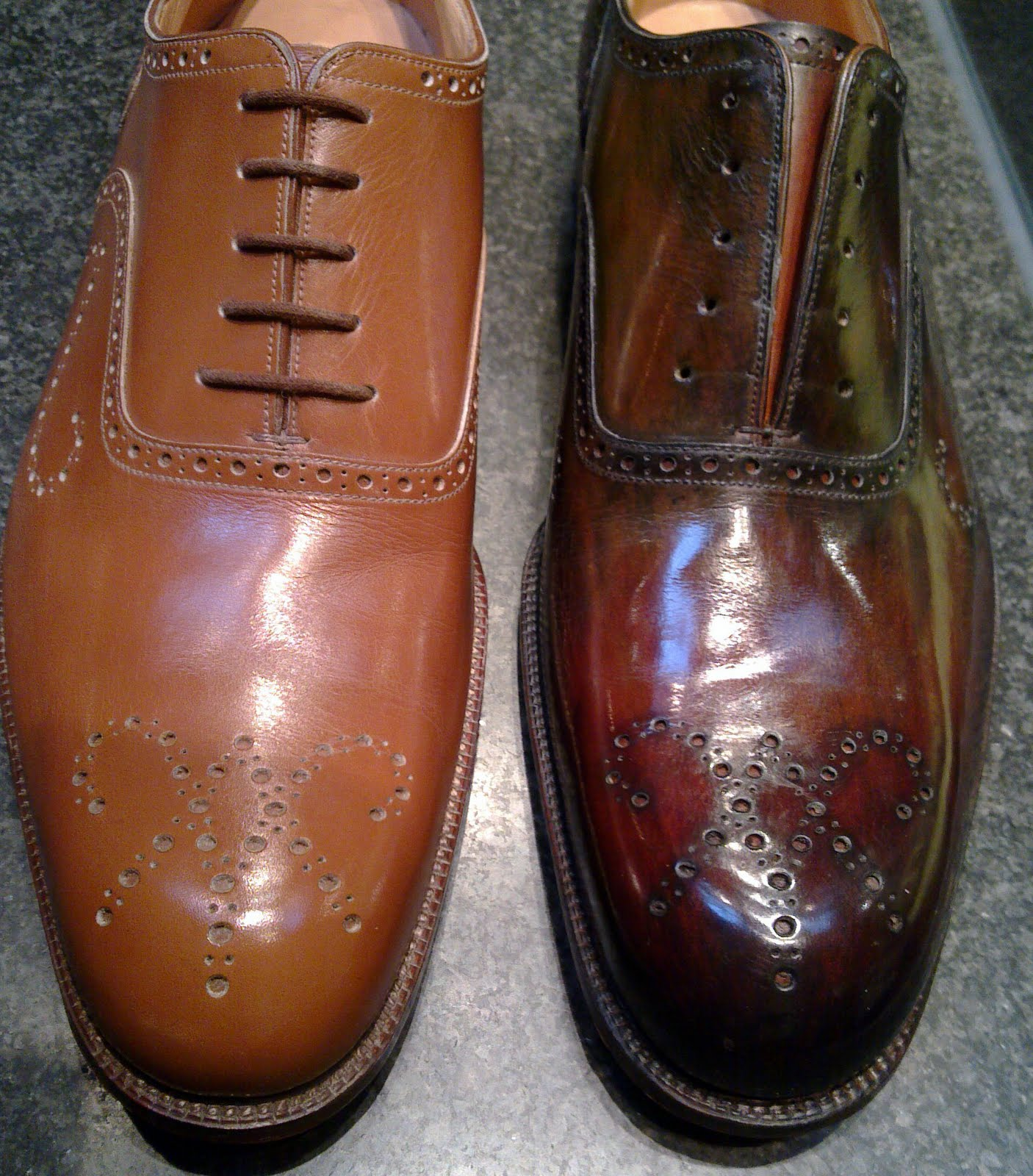 Patina For Acorn Leather Shoes
