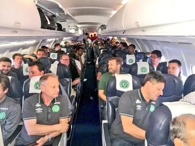 Plane Crashes In Colombia With 81 On Board, Including Brazilian Footballers