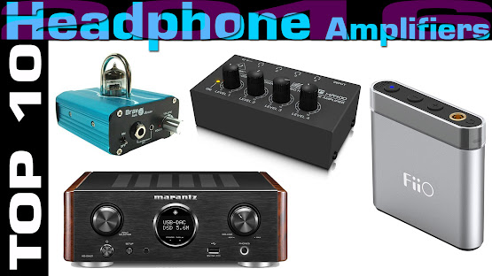 Top 10 Review Products-Top 10 Headphone Amplifiers 2016 v2