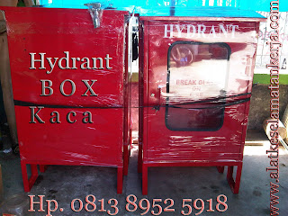 Hydrant Box Kaca kunci Outdoor type