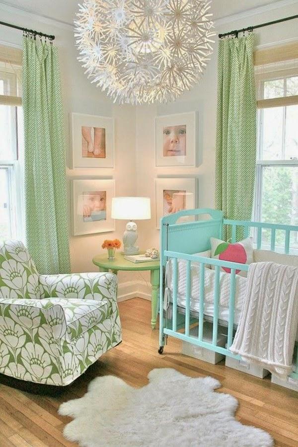 dormitorio colorido bebé