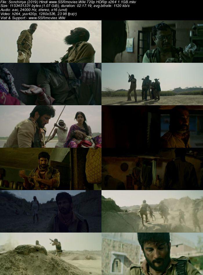 Sonchiriya (2019) Hindi 480p WEB-DL x264 400MB Full Movie Download