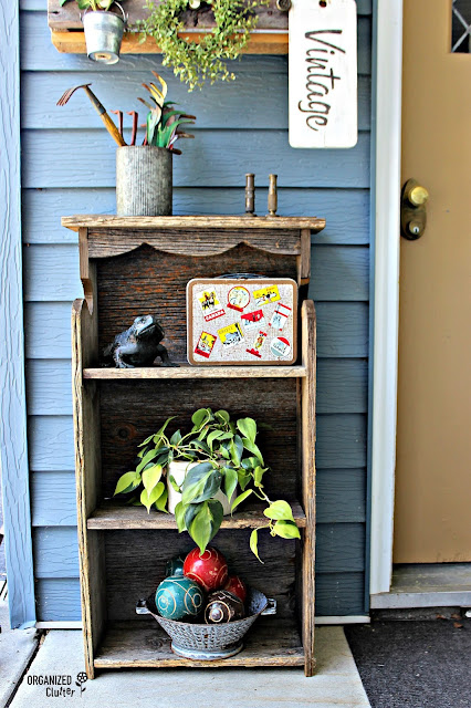 Covered Vintage/Rustic Patio Decor organizedclutter.net