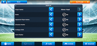 Display Dream League Soccer