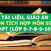 Kho tài liệu, giáo án liên môn tích môn Sinh Học lớp 6-7-8-9-10-11-12 cấp THCS-THPT