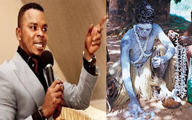 Fetish Priest Dares Obinim - 'I'll Make You Burn To Ashes If You Deny I Gave You Spiritual Powers'