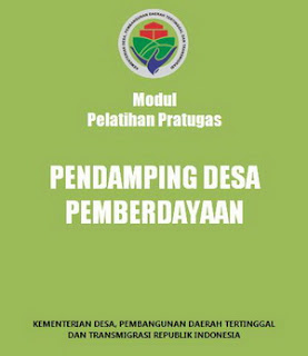 Modul Pelatihan Pratugas Pendamping Desa Pemberdayaan