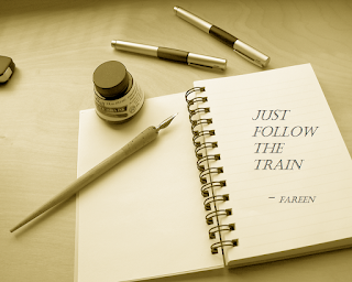 just follow the train poem