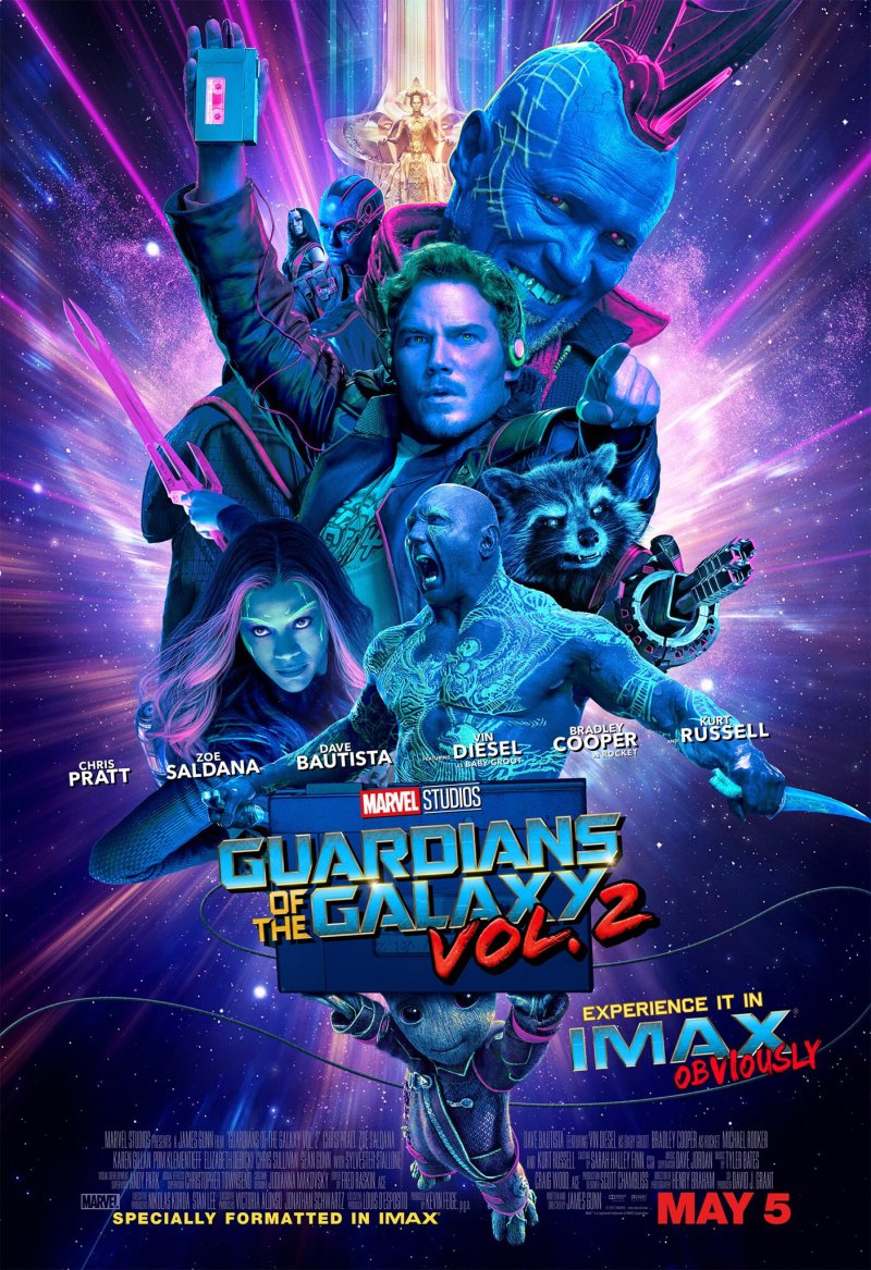 Why Run To The Tardis Guardians Of The Galaxy Vol 2 Imax Poster