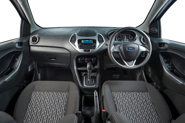 Novo Ford Ka 2019 Sedan - interior