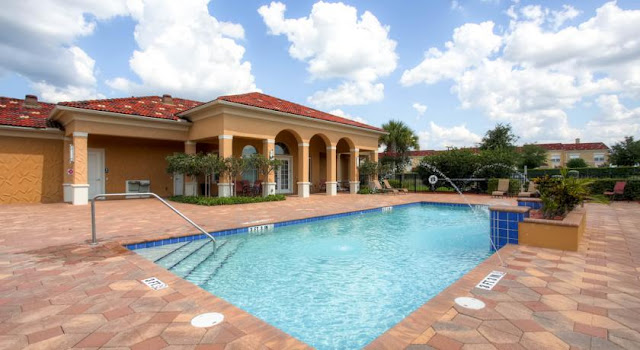 orlando pool home rental