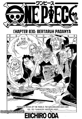 Cover one piece 830