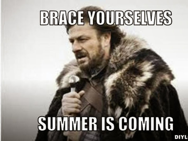 Brace Yourselves... Summer is Coming!