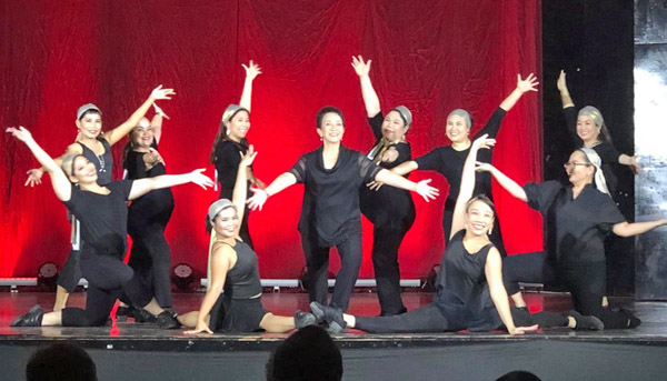 The Garcia-Sanchez School of Dance - Bacolod dance school - Bacolod ballet school - Garcia-Sanchez family - Janette Garcia-Sanchez - Giselle Sanchez Tan - Georgette Sanchez Vargas - Gianne Sanchez Sanson - Giella Sanchez - adult street jazz