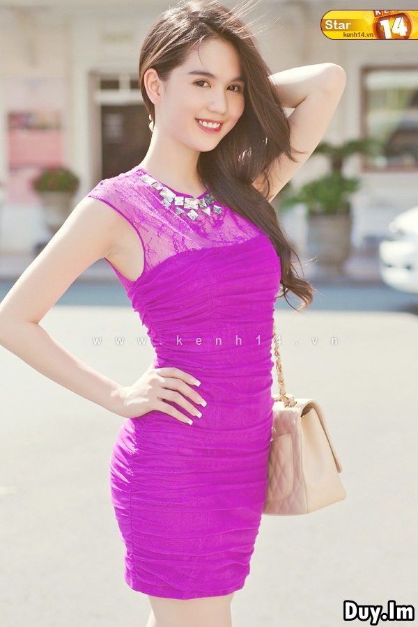 Collection photos of Miss Vietnam Continents, Ngoc Trinh